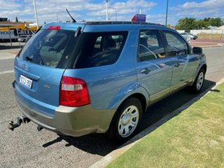 2007 Ford Territory SY TX (RWD) Blue 4 Speed Auto Seq Sportshift Wagon.