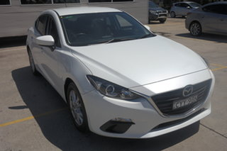 2015 Mazda 3 BM5478 Neo SKYACTIV-Drive White 6 Speed Sports Automatic Hatchback.