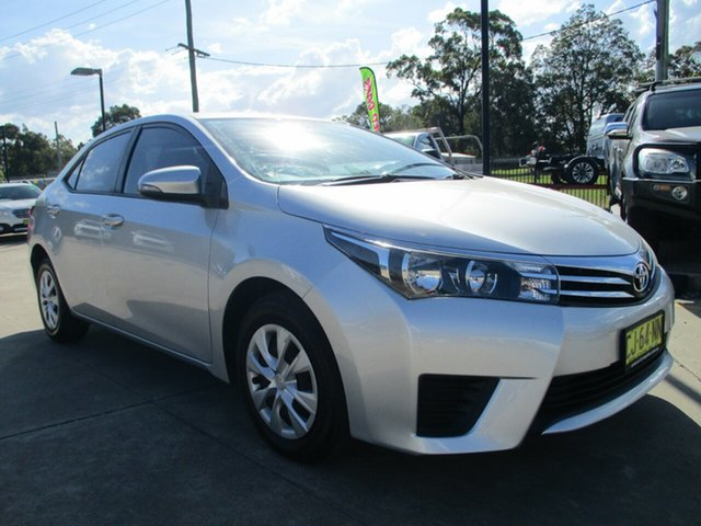 Used Toyota Corolla ZRE172R Ascent S-CVT Glendale, 2016 Toyota Corolla ZRE172R Ascent S-CVT Silver 7 Speed Constant Variable Sedan