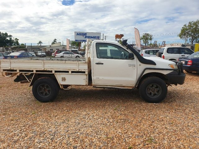 Used Toyota Hilux Holtze, 2007 Toyota Hilux White 5 Speed Manual Utility