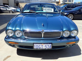 2002 Jaguar XJ8 3.2 Heritage Aqua Blue Metallic 5 Speed Automatic Saloon.