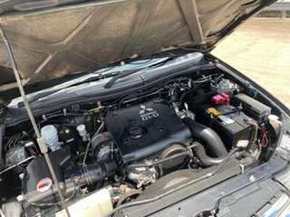 2011 Mitsubishi Triton MN MY11 GL-R (4x4) Black 5 Speed Manual Double Cab Utility