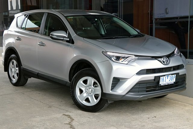 Pre-Owned Toyota RAV4 ZSA42R GX 2WD Preston, 2017 Toyota RAV4 ZSA42R GX 2WD Silver Sky 7 Speed Constant Variable Wagon