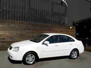 2006 Holden Viva JF Equipe White 4 Speed Automatic Sedan