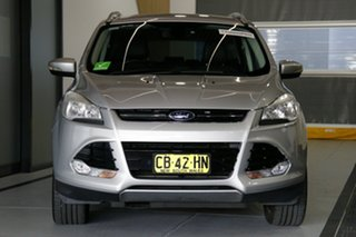 2014 Ford Kuga TF Trend (AWD) Silver 6 Speed Automatic Wagon