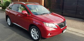 2010 Lexus RX350 GGL15R Sports Luxury Burgundy 6 Speed Automatic Wagon