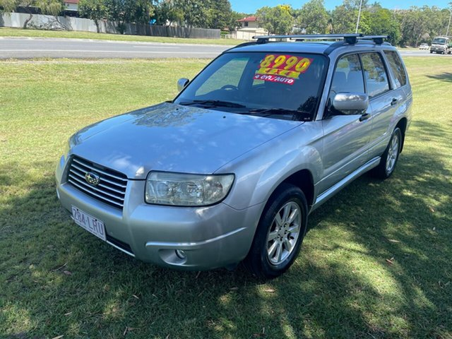 Used Subaru Forester 79V MY05 XS AWD Luxury Clontarf, 2005 Subaru Forester 79V MY05 XS AWD Luxury Silver 4 Speed Automatic Wagon