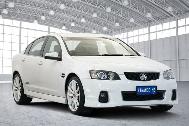 Used Holden Commodore VE II MY12 SS V Redline Victoria Park, 2012 Holden Commodore VE II MY12 SS V Redline White 6 Speed Sports Automatic Sedan