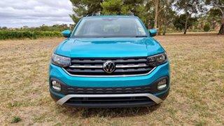 2020 Volkswagen T-Cross C1 MY21 85TSI DSG FWD Life Makena Turquoise Metallic 7 Speed.