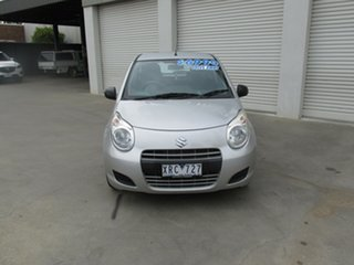 2009 Suzuki Alto GF GL Silver 5 Speed Manual Hatchback.