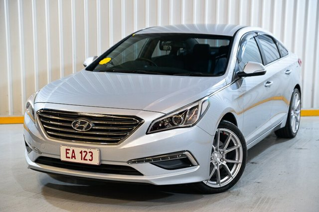Used Hyundai Sonata LF3 MY17 Active Hendra, 2017 Hyundai Sonata LF3 MY17 Active Silver 6 Speed Sports Automatic Sedan