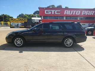 2005 Mitsubishi Magna TW VR Black 5 Speed Sports Automatic Wagon