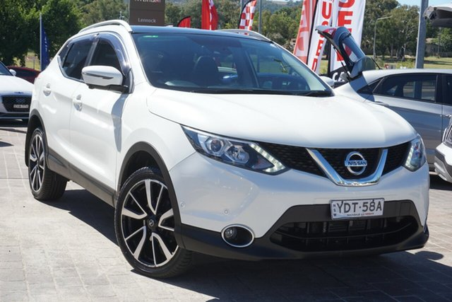 Used Nissan Qashqai J11 TI Phillip, 2016 Nissan Qashqai J11 TI White 1 Speed Constant Variable Wagon