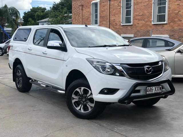 Used Mazda BT-50 UR0YG1 XTR Chermside, 2017 Mazda BT-50 UR0YG1 XTR White 6 Speed Sports Automatic Utility