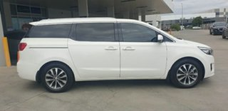 2017 Kia Carnival YP MY18 SLi Clear White 6 Speed Sports Automatic Wagon.