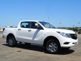 2017 Mazda BT-50 UR0YG1 XT 4x2 Hi-Rider White 6 Speed Sports Automatic Utility.