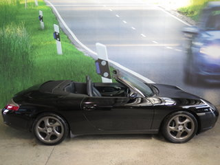 2001 Porsche 911 Carrera Black 6 Speed Manual Cabriolet