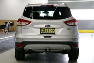 2014 Ford Kuga TF Trend AWD Silver 6 Speed Sports Automatic Wagon
