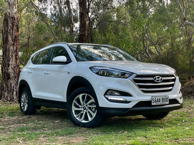 Used Hyundai Tucson TL2 MY18 Active 2WD Reynella, 2018 Hyundai Tucson TL2 MY18 Active 2WD Pure White 6 Speed Sports Automatic Wagon