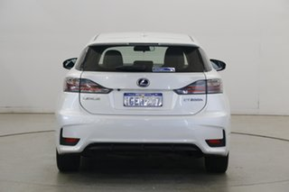 2016 Lexus CT ZWA10R MY16 CT200h Luxury White 1 Speed Constant Variable Hatchback Hybrid