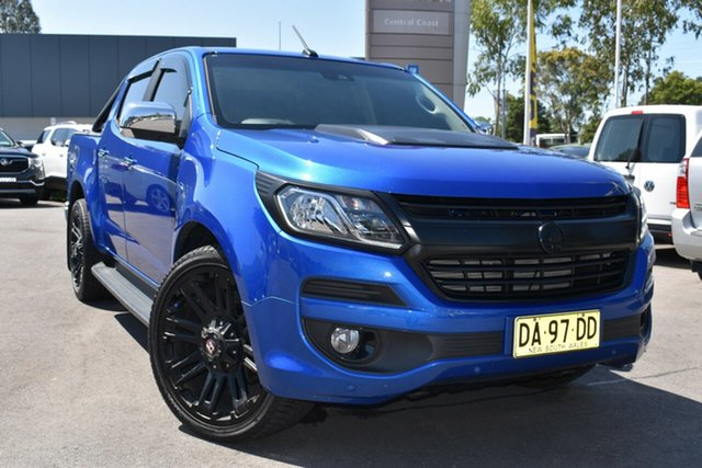 Used Holden Colorado RG MY18 LTZ Pickup Crew Cab Tuggerah, 2017 Holden Colorado RG MY18 LTZ Pickup Crew Cab Blue 6 Speed Sports Automatic Utility