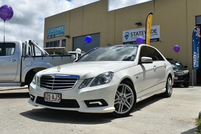 Used Mercedes-Benz E250 212 CGI Avantgarde Capalaba, 2010 Mercedes-Benz E250 212 CGI Avantgarde White 5 Speed Automatic Sedan