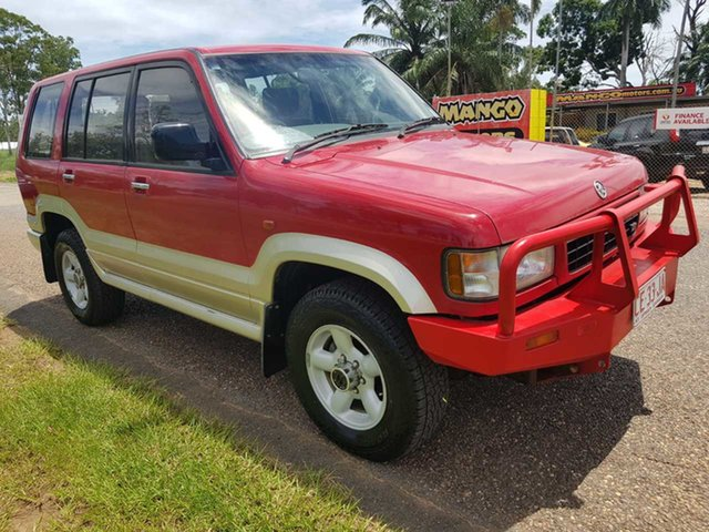 Used Holden Jackaroo UBS II SE Pinelands, 1996 Holden Jackaroo UBS II SE Red 5 Speed Manual Wagon