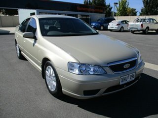 2005 Ford Fairmont BF Gold 4 Speed Sports Automatic Sedan.