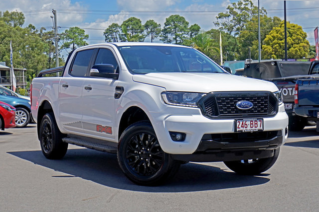 Used Ford Ranger PX MkIII 2020.25MY FX4 Chandler, 2020 Ford Ranger PX MkIII 2020.25MY FX4 White 10 Speed Sports Automatic Double Cab Pick Up