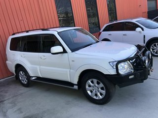 2017 Mitsubishi Pajero NX MY18 GLX White 5 Speed Sports Automatic Wagon