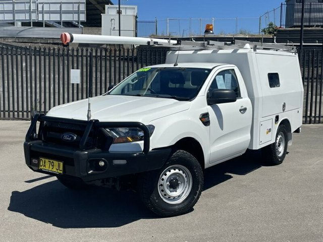 Used Ford Ranger PX MkII XL Newcastle, 2016 Ford Ranger PX MkII XL White 6 Speed Sports Automatic Cab Chassis