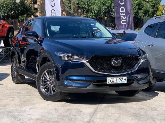 Used Mazda CX-5 KF2W7A Maxx SKYACTIV-Drive FWD Sport Liverpool, 2018 Mazda CX-5 KF2W7A Maxx SKYACTIV-Drive FWD Sport Blue 6 Speed Sports Automatic Wagon