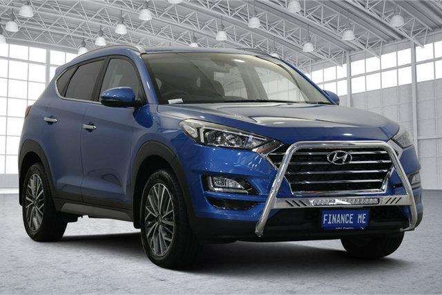 Used Hyundai Tucson TL3 MY20 Elite 2WD Victoria Park, 2020 Hyundai Tucson TL3 MY20 Elite 2WD Aqua Blue 6 Speed Automatic Wagon