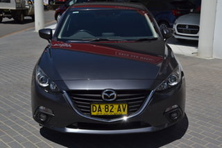 2016 Mazda 3 BM5438 SP25 SKYACTIV-Drive Grey 6 Speed Sports Automatic Hatchback.