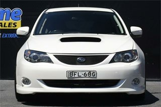 2007 Subaru Impreza S MY07 WRX AWD White 5 Speed Manual Hatchback.