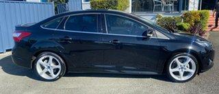 2012 Ford Focus LW Titanium PwrShift Panther Black 6 Speed Sports Automatic Dual Clutch Sedan.