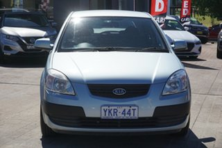 2008 Kia Rio JB MY07 LX Blue 5 Speed Manual Hatchback.