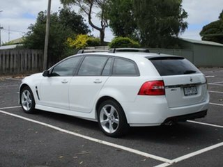 2017 Holden Commodore SV6 SV6 White Automatic Sportswagon.