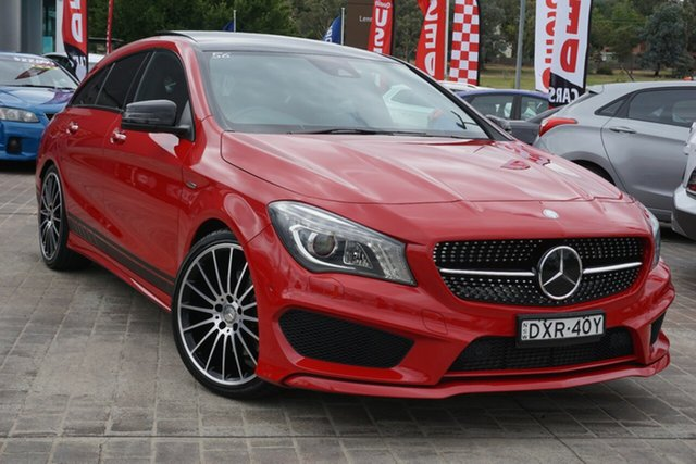 Used Mercedes-Benz CLA-Class X117 CLA250 Shooting Brake DCT 4MATIC Sport Phillip, 2015 Mercedes-Benz CLA-Class X117 CLA250 Shooting Brake DCT 4MATIC Sport Red 7 Speed