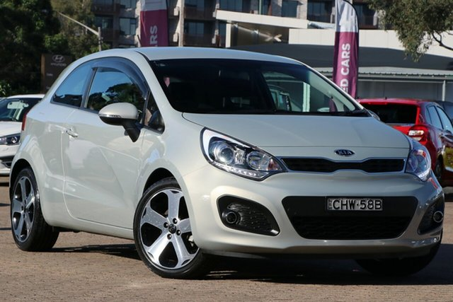 Used Kia Rio UB MY13 SLS Rosebery, 2012 Kia Rio UB MY13 SLS Grey 6 Speed Manual Hatchback