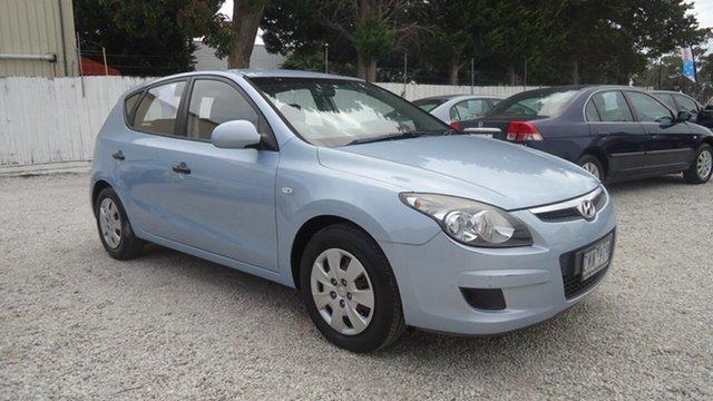 Used Hyundai i30 FD MY11 SX Seaford, 2011 Hyundai i30 FD MY11 SX Blue 4 Speed Automatic Hatchback