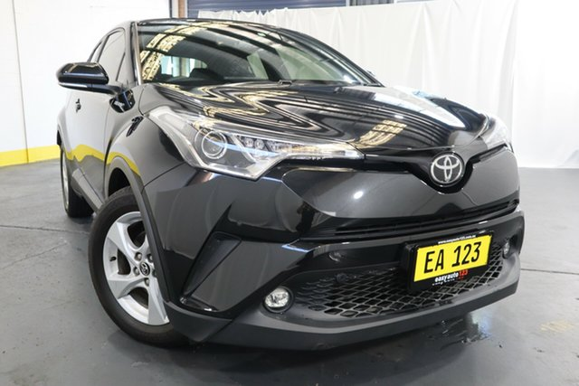 Used Toyota C-HR NGX10R S-CVT 2WD Castle Hill, 2017 Toyota C-HR NGX10R S-CVT 2WD Black 7 Speed Constant Variable Wagon