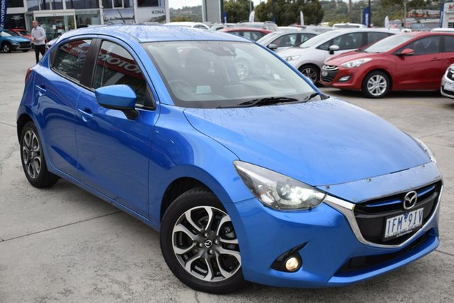 Used Mazda 2 DJ2HAA Genki SKYACTIV-Drive Ferntree Gully, 2015 Mazda 2 DJ2HAA Genki SKYACTIV-Drive Blue 6 Speed Sports Automatic Hatchback