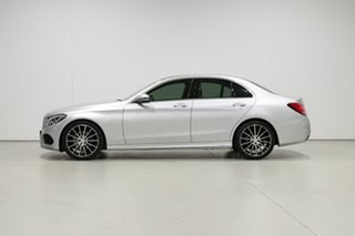 2017 Mercedes-Benz C200 205 MY17.5 Silver 9 Speed Automatic G-Tronic Sedan