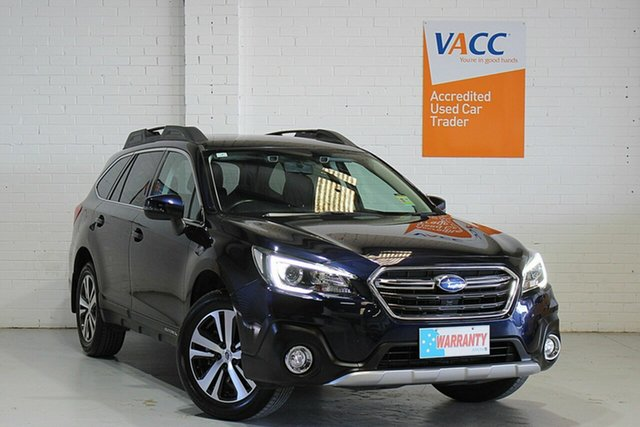 Used Subaru Outback B6A MY19 2.5i CVT AWD Moorabbin, 2019 Subaru Outback B6A MY19 2.5i CVT AWD Blue 7 Speed Constant Variable Wagon