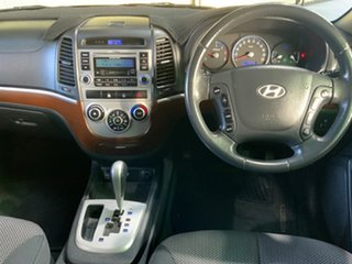 2008 Hyundai Santa Fe CM MY09 Upgrade SX CRDi (4x4) Silver 5 Speed Automatic Wagon