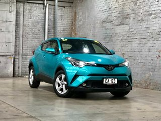 2018 Toyota C-HR NGX10R S-CVT 2WD Green 7 Speed Constant Variable Wagon.