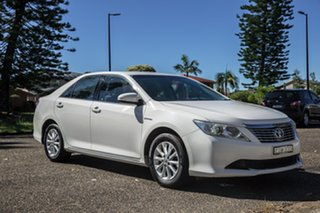 2012 Toyota Aurion GSV50R AT-X White 6 Speed Sports Automatic Sedan.