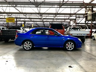 2005 Subaru Impreza S MY05 WRX AWD Blue 5 Speed Manual Sedan