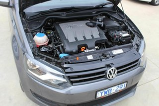 2012 Volkswagen Polo 6R MY12.5 66TDI DSG Comfortline Grey 7 Speed Sports Automatic Dual Clutch